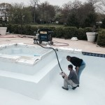 Final Application Polymeric Pool Finish